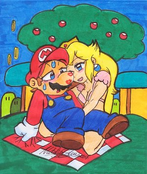 Mario_Gets_a_helping_hand_by_NatSilva